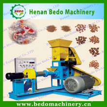 China floating fish feed pellet farming equipment/dog food making machine with CE 008618137673245