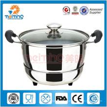 aço inoxidável manter panela de sopa quente para comida quente