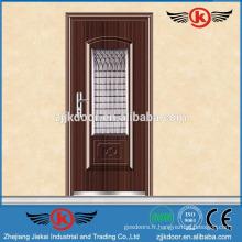 Portes de sécurité en acier JK-S9020 avec écran de fenêtre