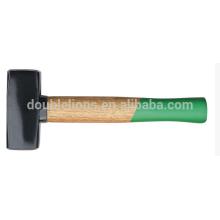 lapidation marteaux manche en plastique de couleur double, marteaux