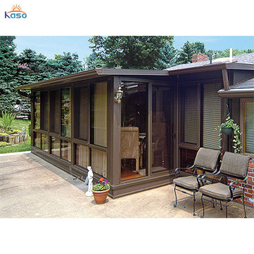 Flower Living Sliding Tent Terrarium Glass Prefab House