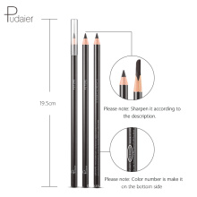 Private Label Hot Sale Pudaier Natural Eyebrow Pencil Waterproof Eyebrow