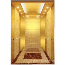 Aksen Goden Mirror Etched Machine Room Passenger Elevator J0346