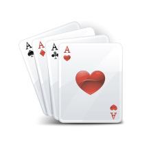 Spielkarte, Kartenspiele, Poker Card
