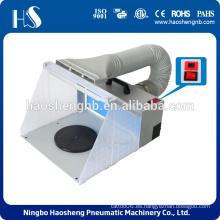 HS-E420DCLK Airbrush Spray Booth Kit Pintar Craft Olor Extractor Hobby Artesanía
