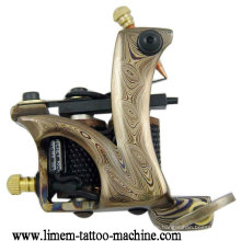 Damaskus Steel Tattoo Spule Maschine