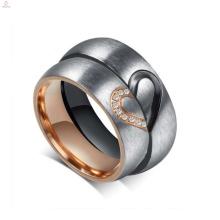 Оптовая подгонять титана стали пару кольца, любовь кольцо для пар
