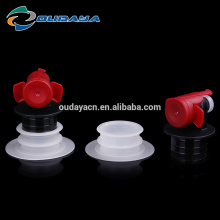 Hot sales red wine valve plastic butterfly valve