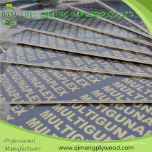Two Time Hot Press Waterproof Film Faced Plywood for Construction