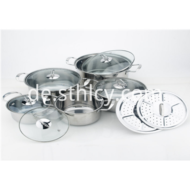 All Clad Stainless Steel Soup Pot