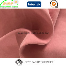 Moss Peach Skin Fabric Micro Fiber Fabric 93% Polyester 7% Nylon for Wind Coat\