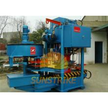 Máquina para fabricar láminas de techo de hormigón totalmente automática para casas