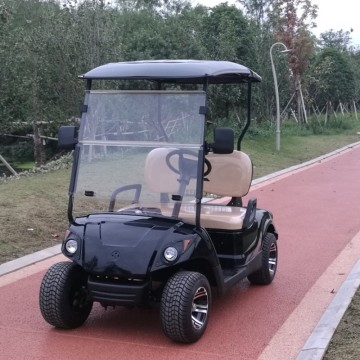 1-2 person 4 hjul elektrisk golfvagn