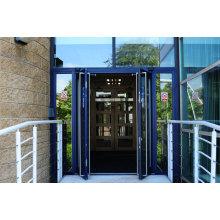 Doppelverglasung Aluminium Flügel Tür