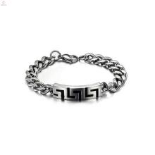 Bracelete de nome personalizado, pulseira de segurança