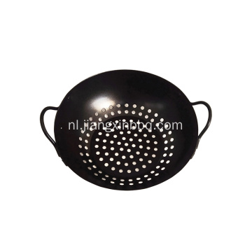 "Barbecue Grill Wok - 8 ""- Antiaanbaklaag"
