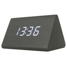 Alarme électronique créative d'horloge de LED, horloge lumineuse de cadeau lumineux muet