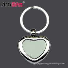 Wholesale Keychain Factory Personalized Hardware Heart Charms Hook For Girls