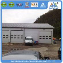 Overseas popular steel structure prefab garage kits