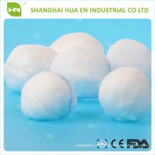 100% Baumwolle saugfähiger Gazeball (mit CE .ISO zertifiziert)