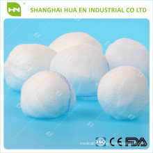 100% cotton Absorbent Gauze Ball ( with CE .ISO certificated)