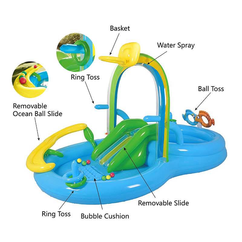 Inflatable Kids Pool