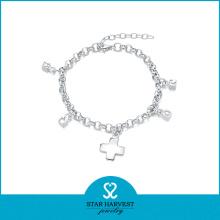 Bracelet de bijoux de mode 2016 avec un bon polissage (B-0002)