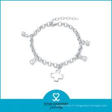 2016 nouveaux bracelets en argent sterling conçus 925 (B-0002)