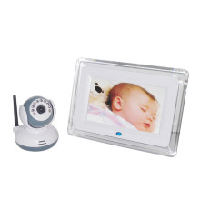 Temperature+Sensor+Lcd+2.4Ghz+Wireless+Baby+Monitor