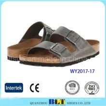 Zapatillas de mujer de estilo occidental de alta calidad con hebilla