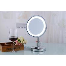 Espejo cosmético eléctrico popular del soporte LED de la tabla 2015