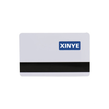 Tarjetas de banda magnética con chip inteligente en blanco