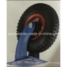 Heavy Duty Caster Wheel Eisen Core Pneumatische Gummi Caster Pneumatische Gummi Caster