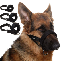Adjustable Soft Dog Muzzle