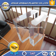 high transparency cheap 50mm transparent acrylic panels for aqarium