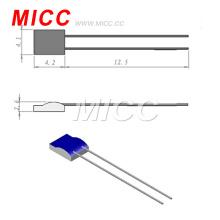 MICC classe AB Thin Flim pt100 termómetros de resistência de platina