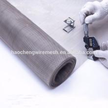 80 100 120 Malla de malla de malla de acero inoxidable 304 para impresión y teñido