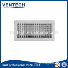 Aluminium Doppel Durchbiegung Luft registrieren für HVAC-system