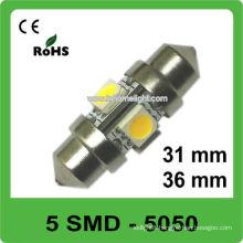 High quality 31mm festoon 12V led car lighting