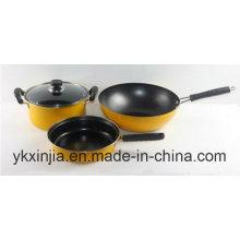 Utensílios De Cozinha De Aço Carbono Stick Anti-Stick Chinês Set