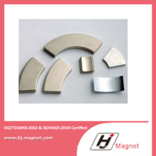 Strong Power N35-N50 Neodymium Arc Permanent Magnet