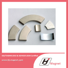 Forte poder N35-N50 neodímio ímã permanente de arco