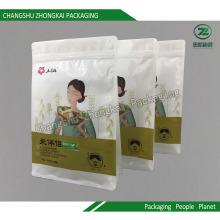 Sacola de embalagem de bolsa de plástico para arroz com água de café