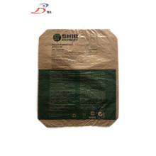 Prix de sac de ciment tissé en plastique 40KG 45KG 4