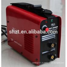 Hot cc dc mma inverseur petite machine à souder portable à arc électrique arc-200