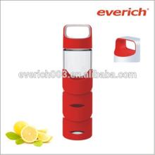 Vente en gros Custom BPA Free 500ml Glass Water Bottle