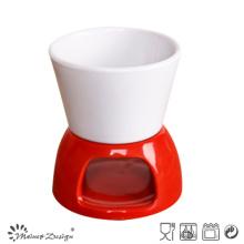 9oz Ceramic Two Colors Bowls