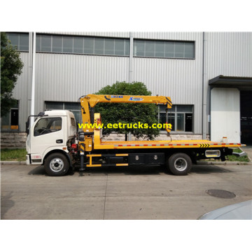 DONGFENG 4T Wrecker Recovery Trucks with Crane