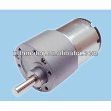 Motor del engranaje de gusano de la CC de alto par del alto esfuerzo de torsión 12V, motor de engranaje de gusano de la CC de alto par de 24V alto esfuerzo de torsión