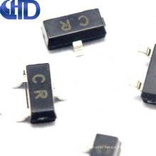 QHDQ3-- 50 SMD Transistors C945 CR 0.15A/50V NPN SOT-23 New IC 2SC945